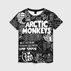 Футболка женская Arctic Monkeys: I'm in a Vest цвета 3D — фото 1