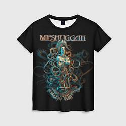 Футболка женская Meshuggah: Violent Sleep цвета 3D — фото 1