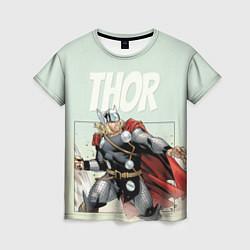 Футболка женская Thor цвета 3D-принт — фото 1