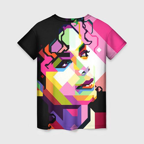 Женская футболка Michael Jackson Art / 3D – фото 2