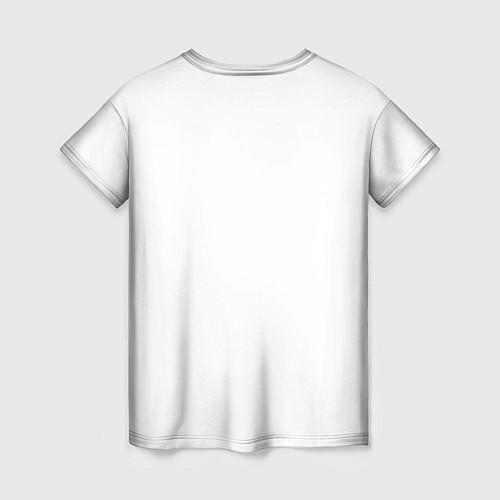 Женская футболка Panda Love / 3D – фото 2