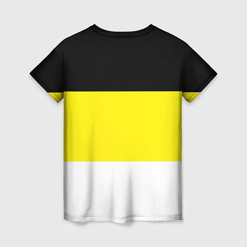 Женская футболка Имперский Флаг / 3D – фото 2