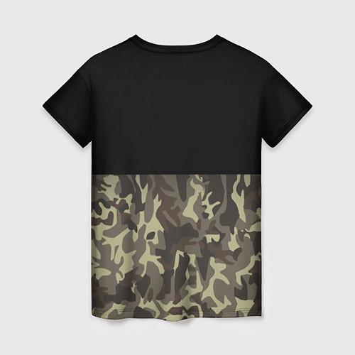 Женская футболка FCK U: Camo / 3D – фото 2