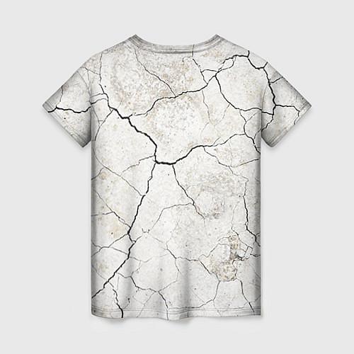 Женская футболка Train hard / 3D – фото 2