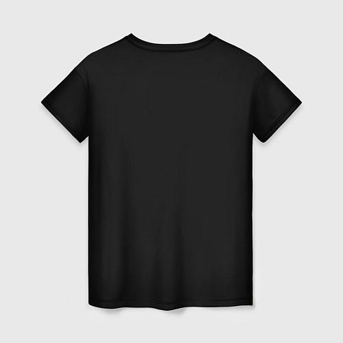 Женская футболка Есенин Ч/Б / 3D – фото 2