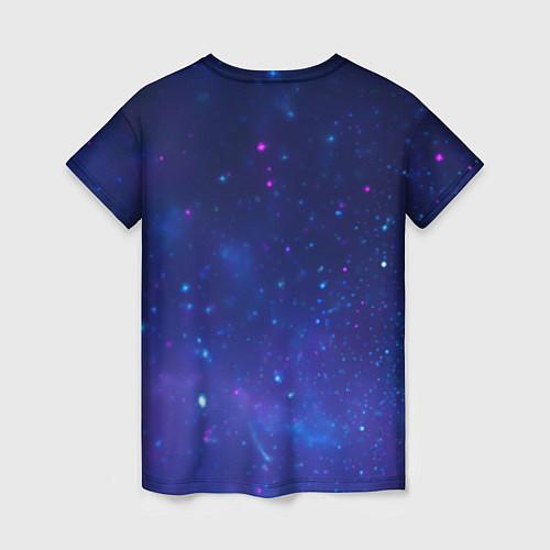 Женская футболка Лев SWAG / 3D – фото 2