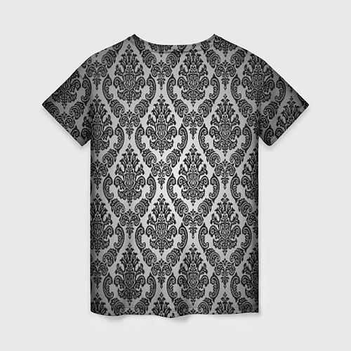 Женская футболка Гламурный узор / 3D – фото 2
