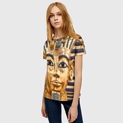Футболка женская Фараон цвета 3D — фото 2