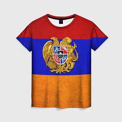 Футболка женская Армения цвета 3D — фото 1