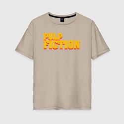 Женская футболка оверсайз Pulp Fiction