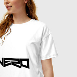 Футболка оверсайз женская Nero цвета белый — фото 2
