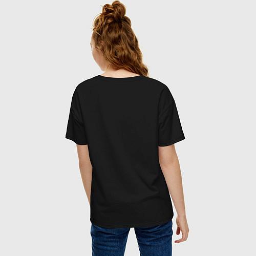Женская футболка оверсайз Killua Hunter x Hunter Киллуа / Черный – фото 4