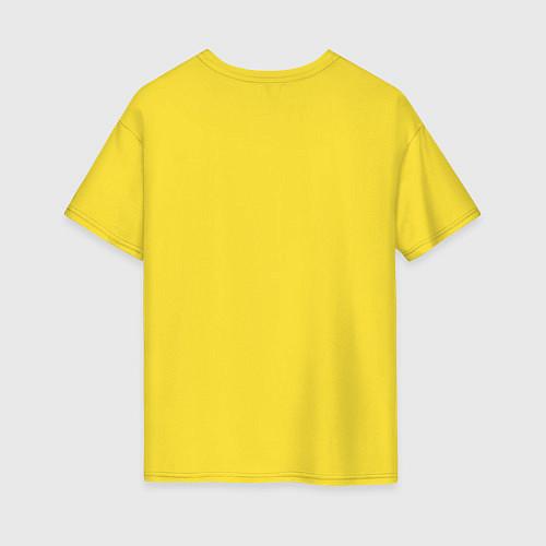 Женская футболка оверсайз The Beatles: break down / Желтый – фото 2