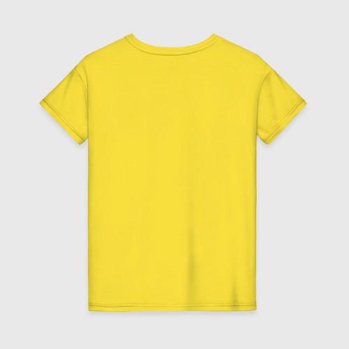 Женская футболка Made in 1990 / Желтый – фото 2