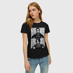 Футболка хлопковая женская Winchester Brothers цвета черный — фото 2