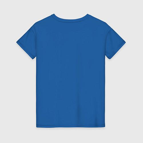 Женская футболка Yoga Fly / Синий – фото 2